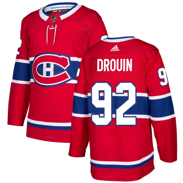 Jonathan Drouin Montreal Canadiens adidas NHL Authentic Pro Home Jersey - Pro Stitched