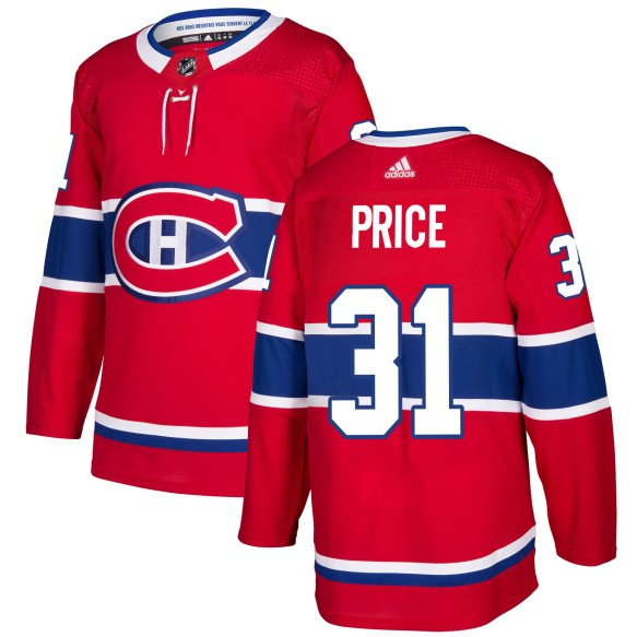 Carey Price Montreal Canadiens adidas  NHL Authentic Pro Home Jersey - Pro Stitched