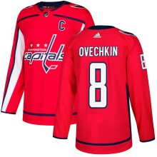 Alexander Ovechkin Washington Capitals adidas  NHL Authentic Pro Home Jersey - Pro Stitched