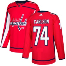 John Carlson Washington Capitals adidas adizero NHL Authentic Pro Home Jersey
