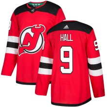 Taylor Hall New Jersey - Pro Stitched Devils adidas  NHL Authentic Pro Home Jersey - Pro Stitched