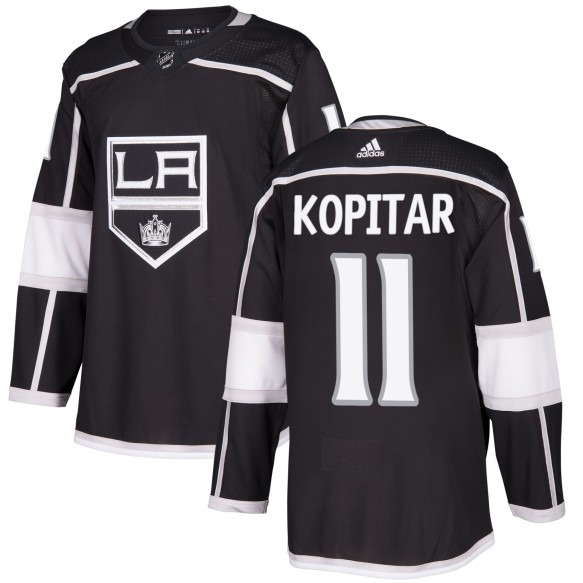 Anze Kopitar Los Angeles Kings adidas  NHL Authentic Pro Home Jersey - Pro Stitched