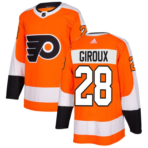 Claude Giroux Philadelphia Flyers adidas  NHL Authentic Pro Home Jersey - Pro Stitched
