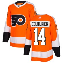 Sean Couturier Philadelphia Flyers adidas  NHL Authentic Pro Home Jersey - Pro Stitched
