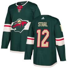 Eric Staal Minnesota Wild adidas NHL Authentic Pro Home Jersey - Pro Stitched