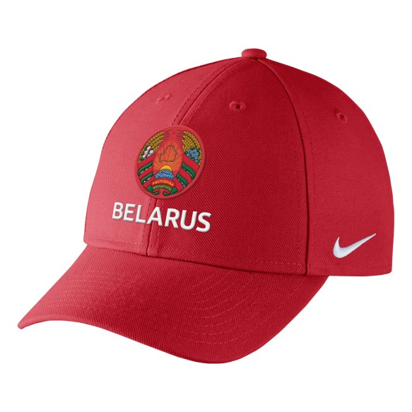 Team Belarus IIHF DRI-FIT Classic Cap - Red | Adjustable