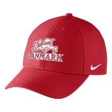 Team Denmark IIHF DRI-FIT Classic Adjustable Cap 2018 Olympic Logo - Red