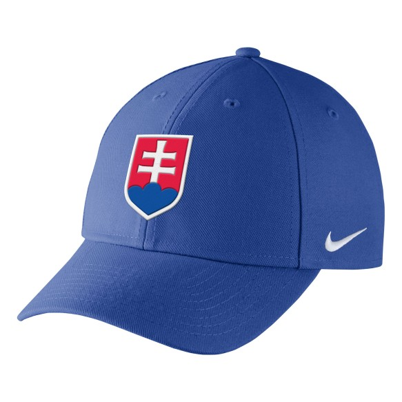 Team Slovakia IIHF DRI-FIT Classic Cap - Blue | Adjustable