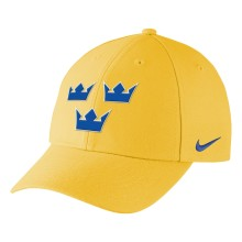 Team Sweden IIHF DRI-FIT Classic Adjustable Cap 2018 Olympic Logo - Gold