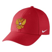 Team Russia IIHF DRI-FIT Classic Adjustable Cap 2018 Olympic Logo - Red