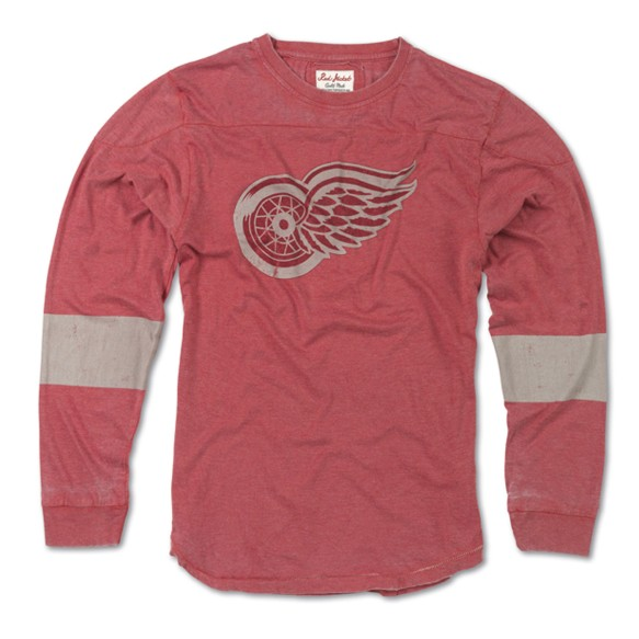 Detroit Red Wings Thompson Long Sleeve T-Shirt