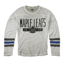 Toronto Maple Leafs Heritage Ashen Long Sleeve T-Shirt - 1939 Logo