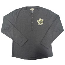 Toronto Maple Leafs Heritage Primo Long Sleeve Henley - 1933 logo