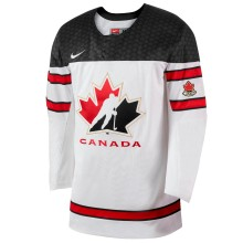 Team Canada IIHF Official 2018-19 Replica White Hockey Jersey