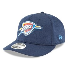 Oklahoma City Thunder NBA Beveled Hit Team Low Profile 9Fifty Snapback Cap