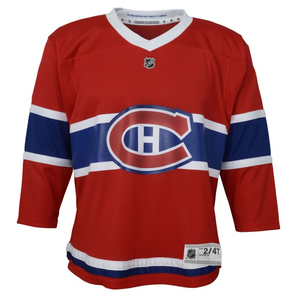 Montreal Canadiens NHL Toddler Replica (2-4T) Home Hockey Jersey