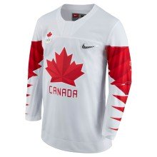 Team Canada IIHF Official 2018 Nike Olympic Replica White