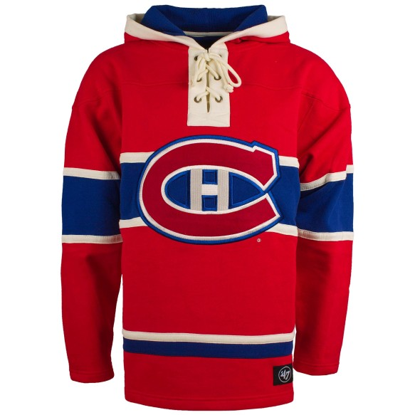 Montreal Canadiens NHL '47 Heavyweight Jersey Lacer Hoodie