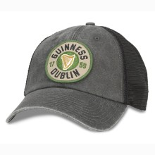 Guinness Raglan Bones Cap | Adjustable