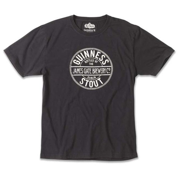 Guinness Brass Tacks Round Logo T-Shirt