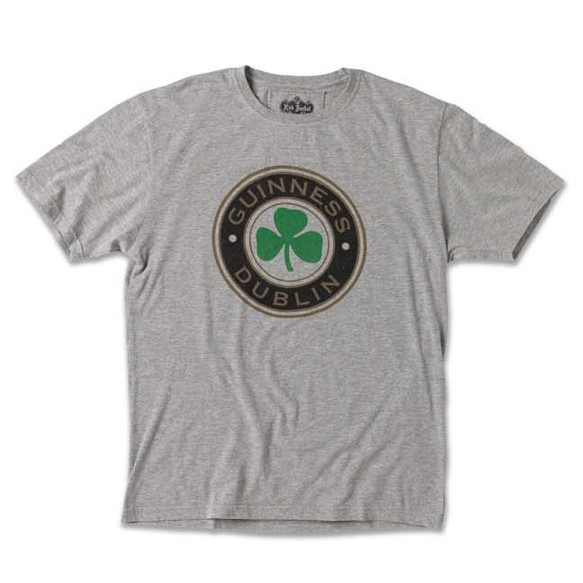 Guinness Brass Tacks Clover Leaf T-Shirt