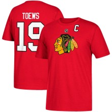 Chicago Blackhawks Jonathan Toews NHL YOUTH Player Name & Number T-Shirt