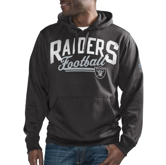 Oakland Raiders NFL Game Time Pullover Hoodie