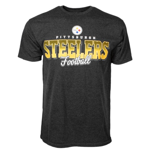 Pittsburgh Steelers NFL Shadow Bi-Blend T-Shirt