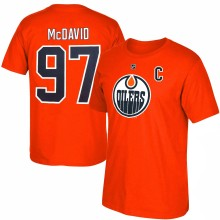 Edmonton Oilers Connor McDavid NHL YOUTH Player Name & Number T-Shirt