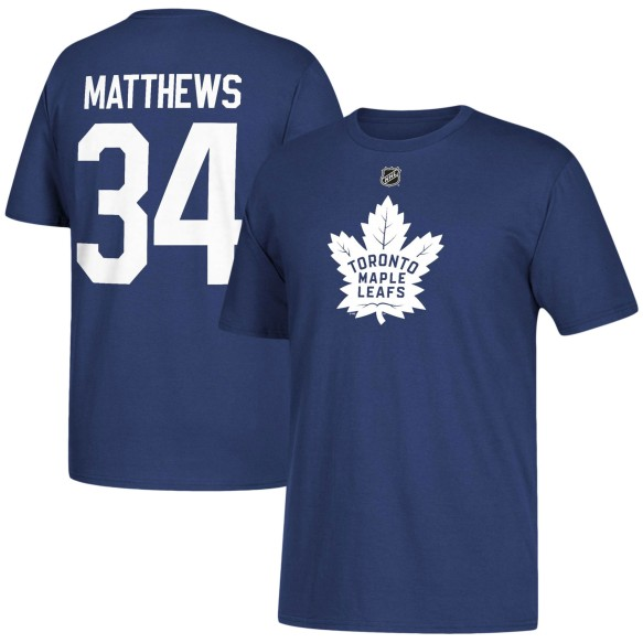 Toronto Maple Leafs Auston Matthews NHL YOUTH Player Name & Number T-Shirt