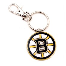 Boston Bruins NHL Logo Keychain