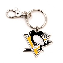Pittsburgh Penguins NHL Logo Keychain