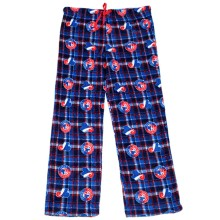 Montreal Expos MLB Plaid Fleece Lounge Pants