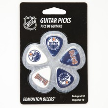 Edmonton Oilers Woodrow Guitar 10-Pack Guitar Picks