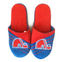 Quebec Nordiques Vintage NHL Men's Big Logo Slipper
