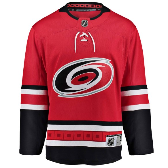 Carolina Hurricanes NHL Premier Youth Replica Home Hockey Jersey