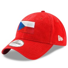 Czech Republic MyCountry Flag Relaxed Fit New Era 9TWENTY Cap (Red) | Adjustable