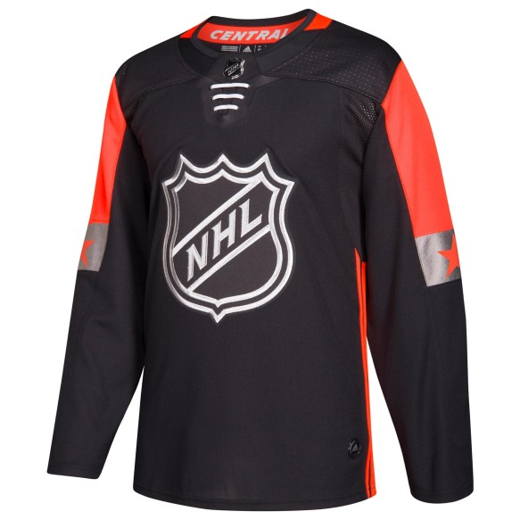 2018 NHL All-Star Central Division adidas adizero NHL Authentic Pro Black Jersey