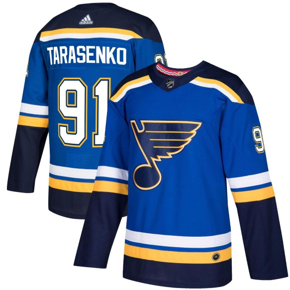 Vladimir Tarasenko St. Louis Blues adidas NHL Authentic Pro Home Jersey - Pro Stitched | PRE-ORDER FALL 2019