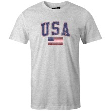 USA MyCountry Vintage Jersey T-Shirt (Heather Gray)