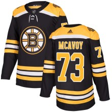 Charlie McAvoy Boston Bruins adidas adizero NHL Authentic Pro Home Jersey