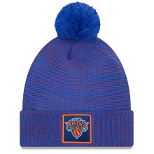 New York Knicks New Era NBA On Court All-Star Pom Knit Hat