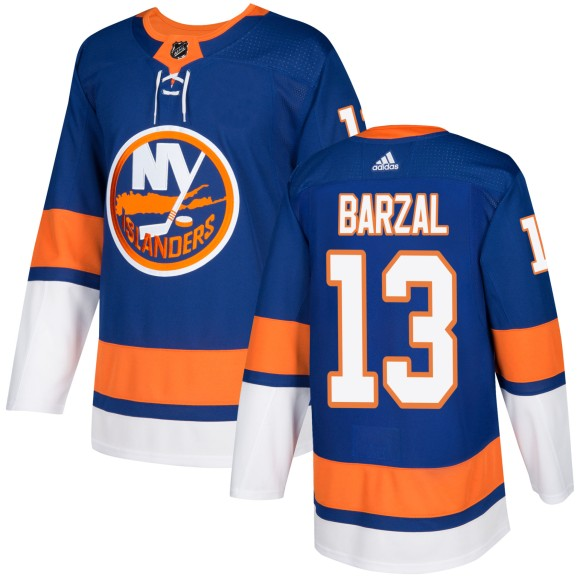 Mathew Barzal New York Islanders adidas  NHL Authentic Pro Home Jersey - Pro Stitched