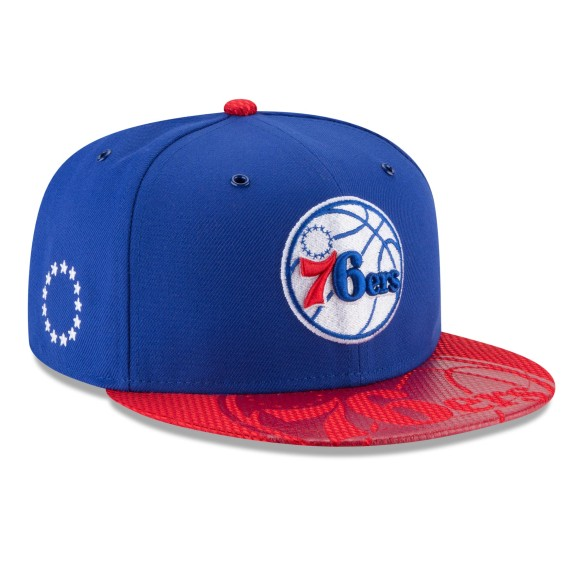 Philadelphia 76ers New Era NBA 2018 On Court All-Star Collection 9FIFTY Snapback Cap | Adjustable