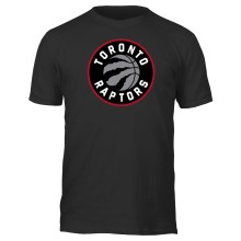 Toronto Raptors NBA Basic Logo T-Shirt (Black)