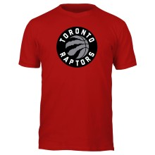 Toronto Raptors NBA Basic Logo T-Shirt (Red)