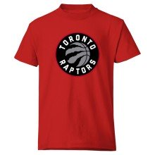 Toronto Raptors YOUTH Basic Logo T-Shirt (Red)
