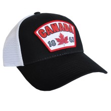Canada Established 1867 Cool Mesh Cap (Black) | Adjustable