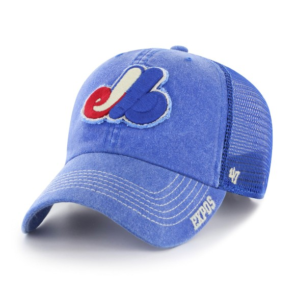 Montreal Expos Burnstead '47 Clean Up Cap | Adjustable
