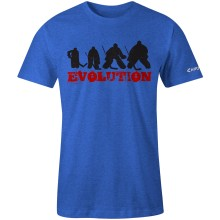 Chirp! Goalie Evolution T-Shirt (Royal Heather)